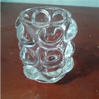 水晶玻璃蜡烛台