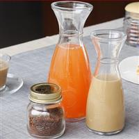 350ml果汁杯柠檬茶玻璃杯