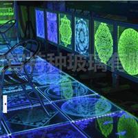 厂家供应电光发光内雕玻璃
