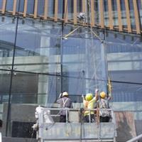 深圳大板玻璃安装更换高盛幕墙