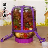 葡萄酒玻璃自动排气发酵密封容器