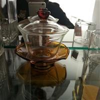 玻璃蓋碗  三才碗、三才杯