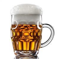 玻璃啤酒杯菠萝杯KTV酒吧用杯