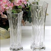 富贵竹水培花瓶六角 花瓶 玻璃