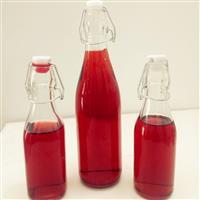 酵素瓶子卡扣玻璃瓶 无铅密封