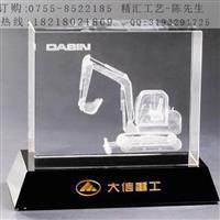拖拉机模型水晶内雕纪念品公司