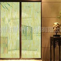 艺术玻璃夹丝玻璃花纹玻璃
