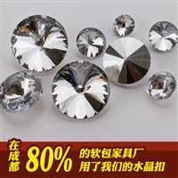 软包水晶扣子厂家批发 量大从优