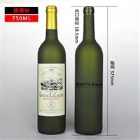 厂家供应葡萄酒瓶红酒瓶配木塞