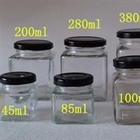 方形玻璃瓶酱菜蜂蜜瓶果酱玻璃瓶