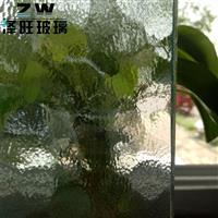 供应4mm银波压花玻璃