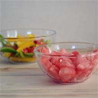 鋼化耐熱玻璃碗透明玻璃碗