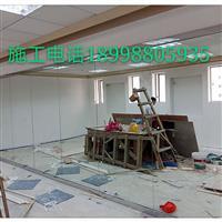 广州舞蹈房镜子瑜伽镜子定做安装