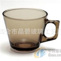 玻璃咖啡杯韩式咖啡杯复古咖啡杯