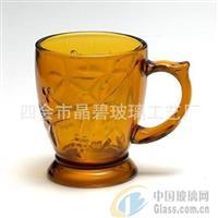简约创意欧式玻璃杯 复古咖啡杯