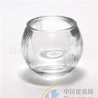 高品质透明玻璃烛杯透明玻璃烛杯