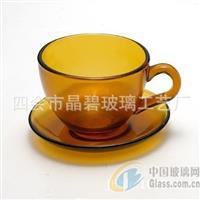 简约创意欧式高档玻璃咖啡杯