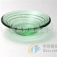 玻璃工艺品 欧式 干果盘