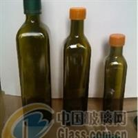 订制茶色橄榄油玻璃瓶墨绿色瓶