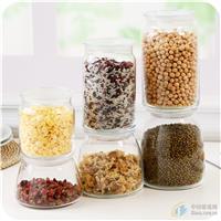透明玻璃密封罐杂粮储物罐