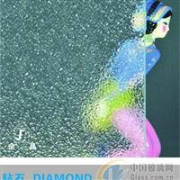 金晶钻石压花玻璃