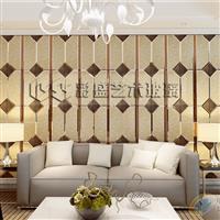 彩盛艺术玻璃电视墙沙发背景墙