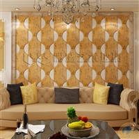 彩盛艺术拼镜客厅沙发背景墙