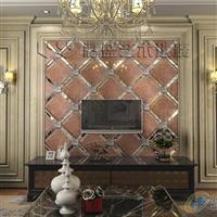 彩盛艺术拼镜系列超晶电视背景墙