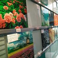 彩釉玻璃(家具)