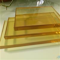 钢化金色玻璃金黄色玻璃原片