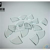 超薄浮法玻璃圆片方片异形玻璃