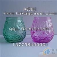 玻璃杯厂家,供应玻璃烛台烛杯