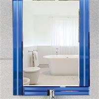 洗手间卫浴镜壁挂镜化妆镜学生镜