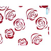 玫瑰花防爆膜玻璃贴膜玻璃膜