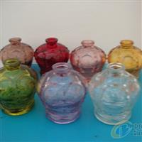 彩色透明香薰瓶香水瓶玻璃瓶高档