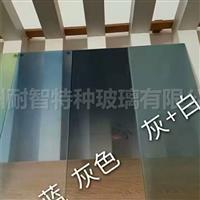 彩色渐变玻璃彩色蒙砂玻璃