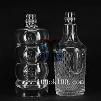 二两装白酒瓶 玻璃瓶样品 玻璃瓶