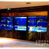 无锡饭店鱼缸 酒店海鲜池