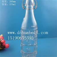 570ml气泡橄榄油玻璃瓶