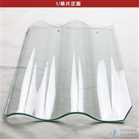 廠家生產高透明采光屋頂玻璃瓦
