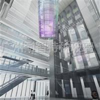 LED透明屏 建筑玻璃 显示屏