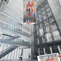 LED透明屏建筑特种显示屏