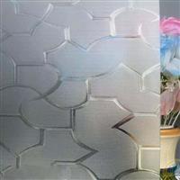 专业生产透明压花玻璃-七巧板