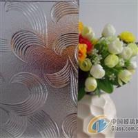 专业生产透明压花玻璃-五月花