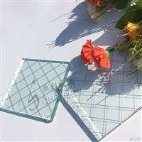 厂家直销 夹铁丝玻璃 高透进口