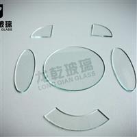 定制圆形方形异形浮法玻璃改切