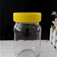 供应圆蜂蜜玻璃瓶1斤到2斤装