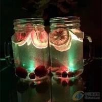新款LED发光玻璃公鸡杯玻璃瓶