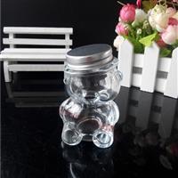供应小熊玻璃糖果瓶蜂蜜瓶