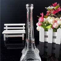 巴黎埃菲尔铁塔玻璃工艺品瓶
